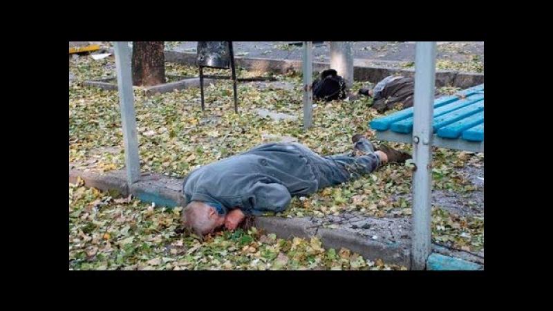 1 октября 2014. Донецк. Обстрел автобусной остановки Донецка 8 погибших
