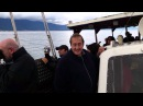Freddie Mercury Memorial Day 2012 Montreux (part 1) - Boat trip to Freddie's Lake House (Duck House)