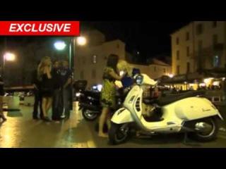 Tara Reid HAMMERED DRUNK -- Takes Down Parked Motorcycle   TMZ.com