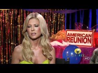 Tara Reid & Thomas Ian Nicholas in funny interview for American Reunion