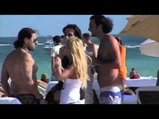Tara Reid Parties on Miami Beach 2008