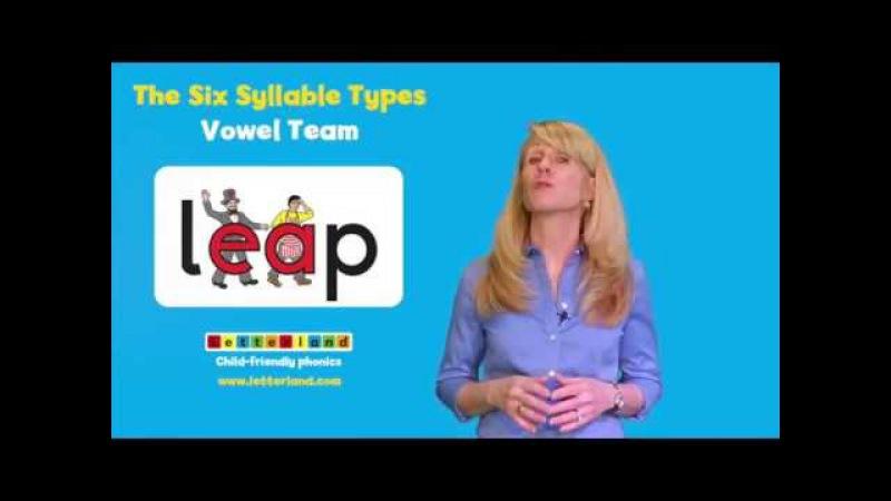 23 - Six Syllable Types - Vowel Teams