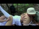 два друга трахнули в лесу двух красоток, студенток Lindsey Olsen, Taissia. Свингеры. Студентки
