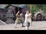 Ребёнок учит Джеки Чана технике Шаолинь!