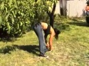 competitive female wrestling match   Orsi S  vs Sofia C part 2