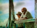 The Old Man and The Sea (by Alexander Petrov)