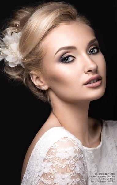 Прическа, макияж