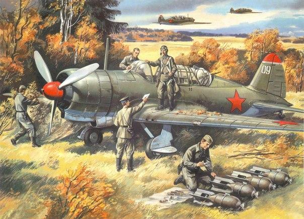 Авиатехники готовят Су-2 к
