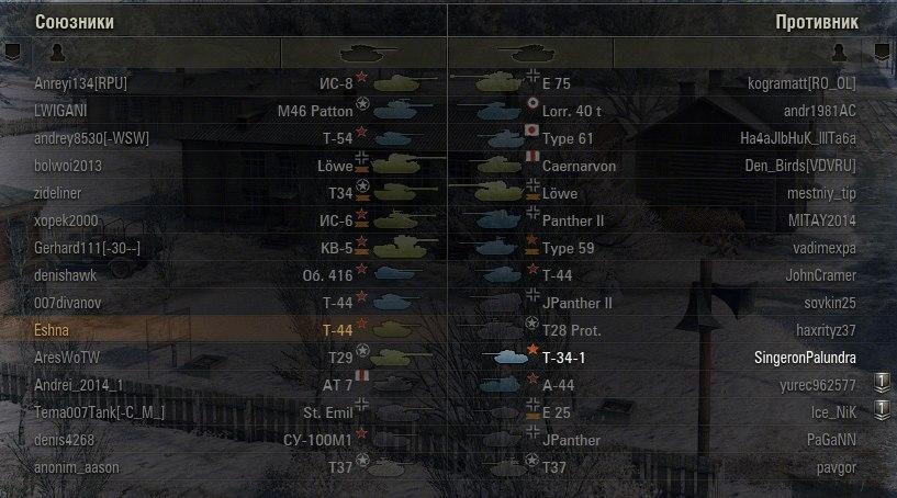 Иконки танков J1mB0  для World of Tanks 0.9.18
