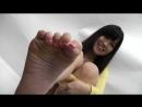 北原ゆりあの足裏 足指 Yuria Kitaharas bare sole and toe