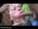 Hot Cum Inside Granny Pussy