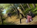 Вырезка из аниме Hakuouki Скзание о десонах сакуры