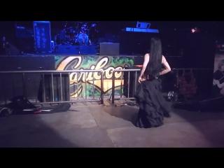 Mahafsoun live metal bellydance - lord of the rings  hobbit remix
