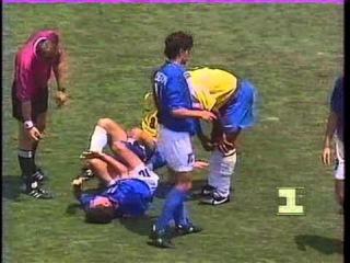 Финал Чемпионата мира по футболу 1994 год Бразилия Италия
