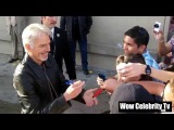Billy Bob Thornton Greets Fans at Jimmy Kimmel Live in Hollywood
