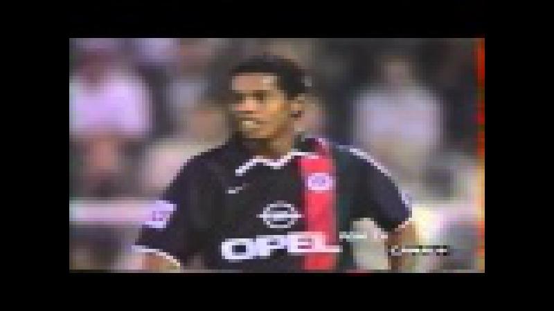 1 Match Ronaldinho psg vs Auxerre - 2001-2002 - 480p - Roni Tv