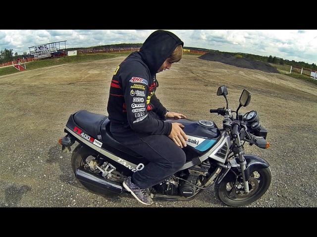 Kawasaki FX 400 R обзор и тестдрайв спортухи