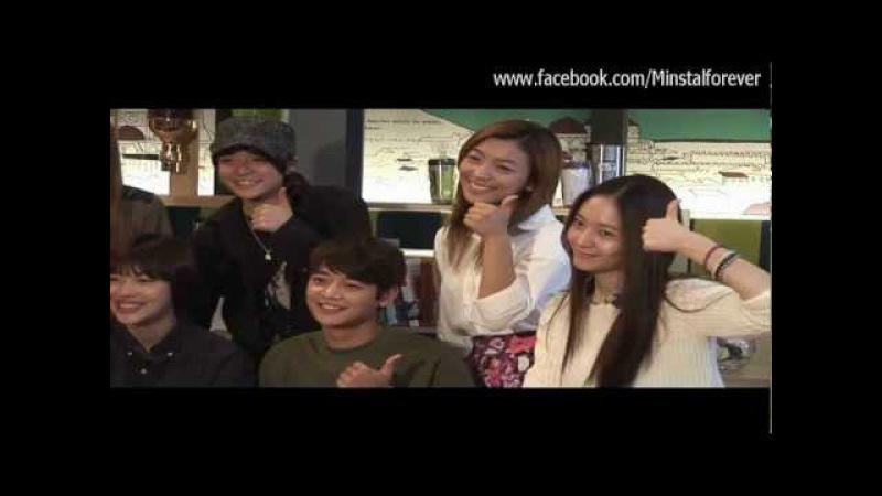 Minho Krystal at TTBY filming