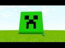 Как Построить Крипера в Minecraft, Гайд Майнкрафт, Как Сделать в Майнкрафте