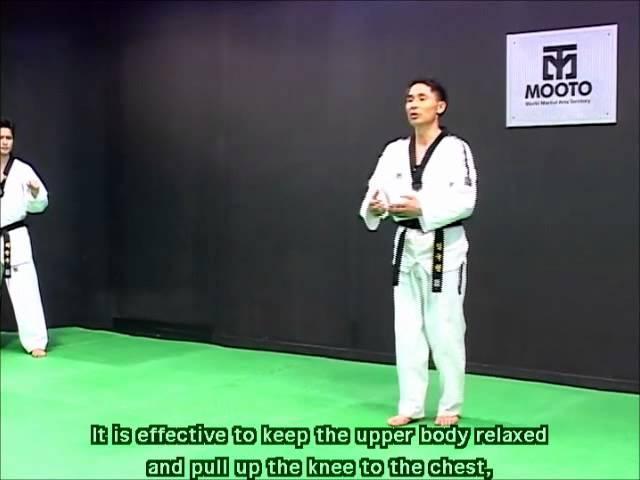 Taekwondo: Combat tutorial vol. 2 part 2/2 step feint motion