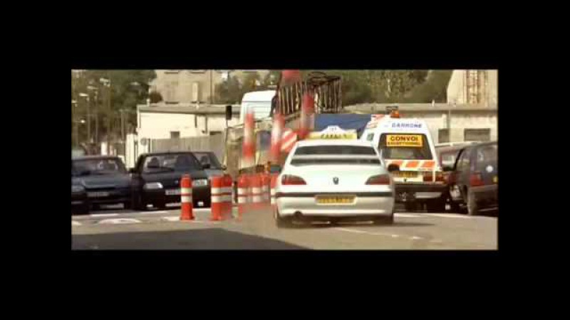 Mercedes 500E from Taxi movie