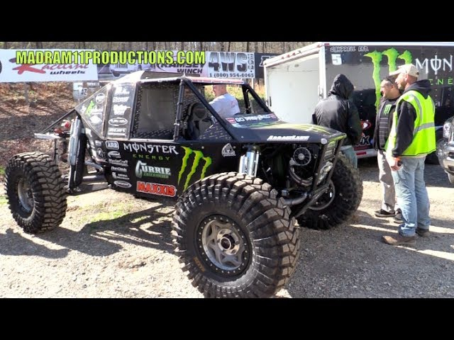 MONSTER ENERGY IFS ULTR4 CAR DRIVEN BY SHANNON CAMPBELL