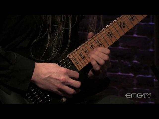 Jeff Loomis shreds Mercurial live on EMGtv