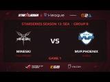 Mineski vs MVP.Phoenix, StarSeries 13 SEA, Game 1