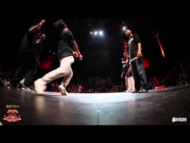 Supreme Cercle Underground S2 - Hiphop Final - Germany Team Vs Triple Threat - Karism