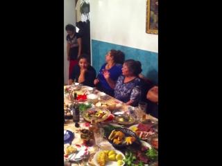 Бабушка и тетка Тамара