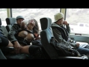 Bonnie Rotten gives a dirty blowjob on a charter bus