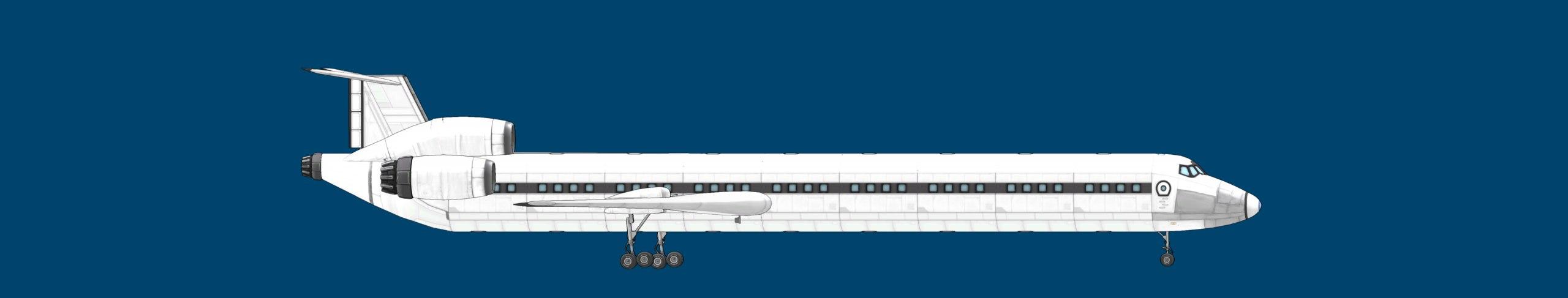 Kupolev Ku-154