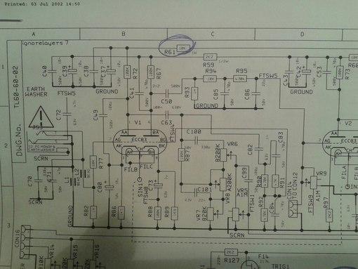 При установке новых резисторов