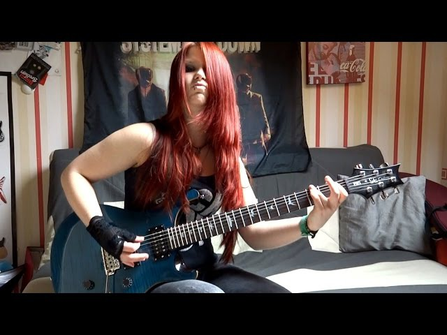 METALLICA Master Of Puppets GUITAR COVER with SOLO by Jassy J