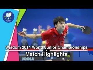 2014 Junior Worlds Highlights: Yuto Muramatsu Vs Yu Ziyang (FINAL)