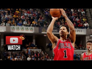 Derrick Rose Full Highlights at Pacers (2014.12.29) - 17 Pts, 6 Ast, 2 Blks