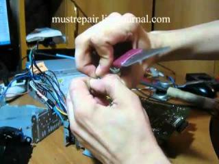 ремонт автомагнитолы part. 3