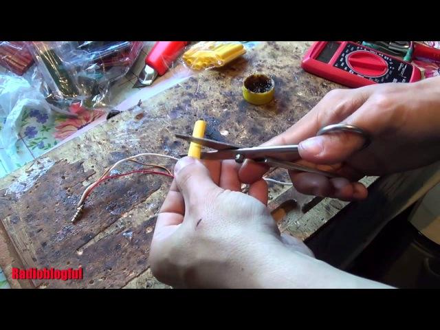 Ремонт штекера наушников. Термоусадка и термоклей.
