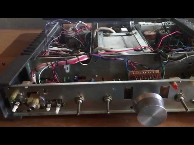 Амфитон 25у 002 Вторая жизнь 3 1 1 часть USSR amplifier amfiton 25U 002S