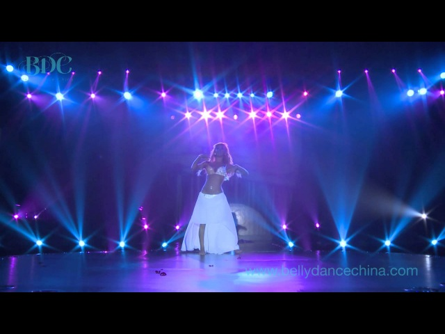 Didem Kinali Preforms for Belly Dance Chinas Global Belly Dance Conference Closing Gala