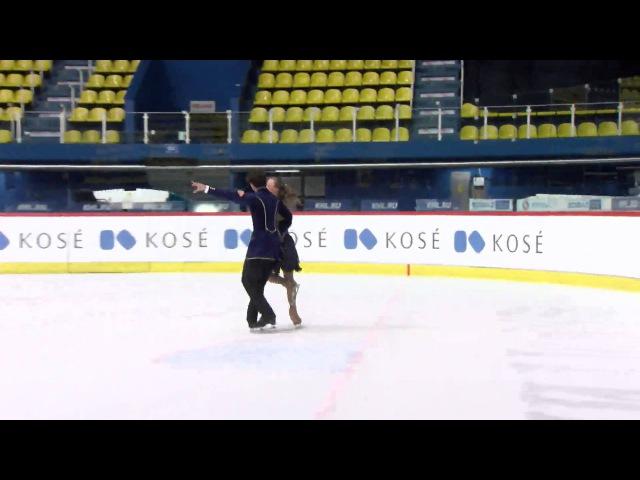 2015 ISU Junior Grand Prix - Zagreb Short Dance Gigi BECKER / Luca BECKER USA