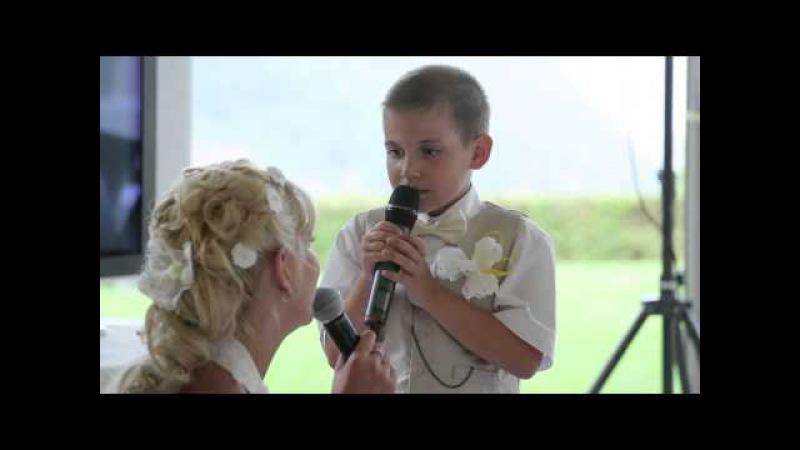 Вот так классно сын спел с мамой, ревели все!