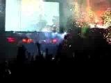 Peter Criss Destroys Drum Kit