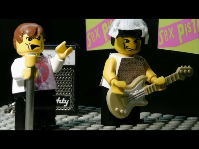Lego Sex Pistols God Save The Queen HD