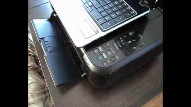 Подключение Wi fi на принтер PIXMA Canon MP495