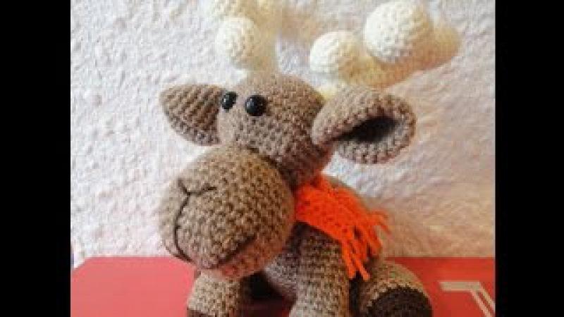 Рождественский ОЛЕНЬ Ч 1 Christmas deer P 1 Crochet