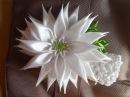 Праздничная Астра Повязочка для волос Канзаши aster flowers kanzashi
