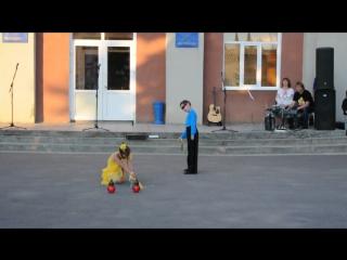 День молоді.Олексій та Даринка.Місто Бар.2015.