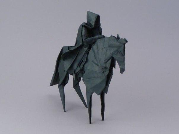 """Оригами """"Назгул"""" by Jason Ku"""