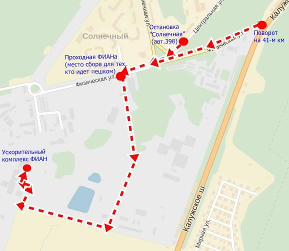 Схема проезда / прохода: